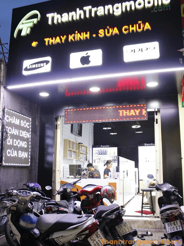 trung tâm thay kính điện thoại uy tín tại TPHCM