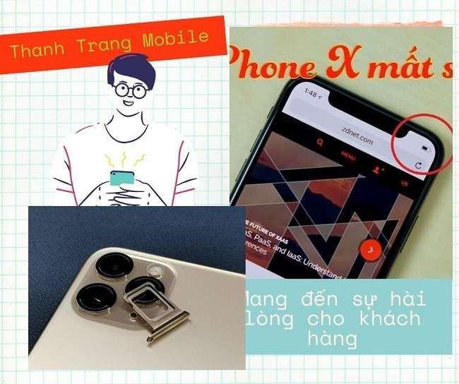 Cung cấp dịch vụ sửa điện thoại tại Thanh Trang Mobile