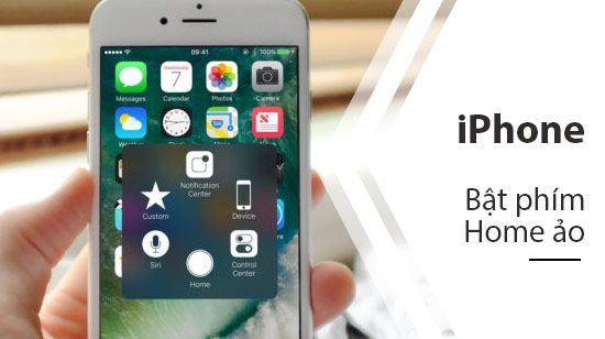 cách hiện nút home trên iphone