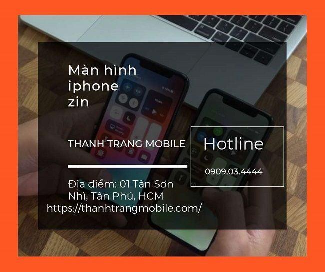 màn hình iphone zin