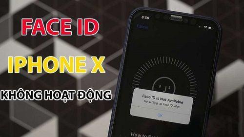 Sửa chữa face ID iphone X 2020