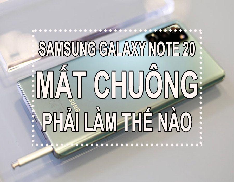 SAMSUNG GALAXY NOTE MAT CHUONG