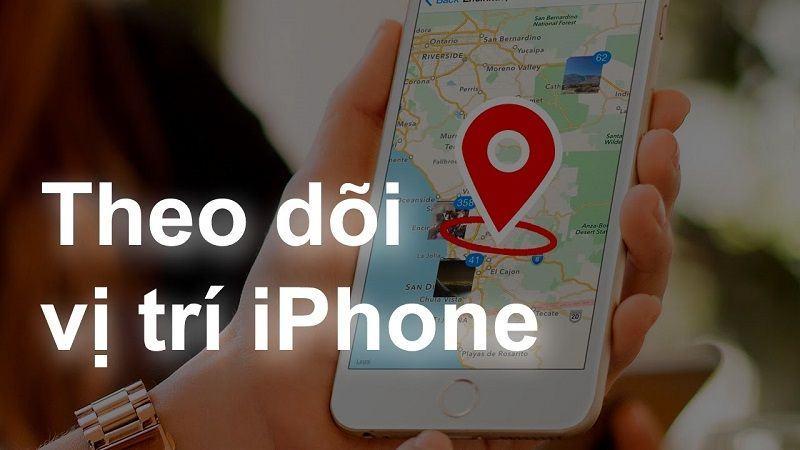 theo dõi vị trí iphone