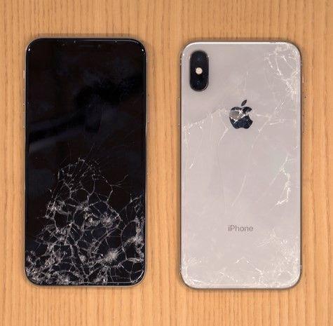iPhone X bể màn hình