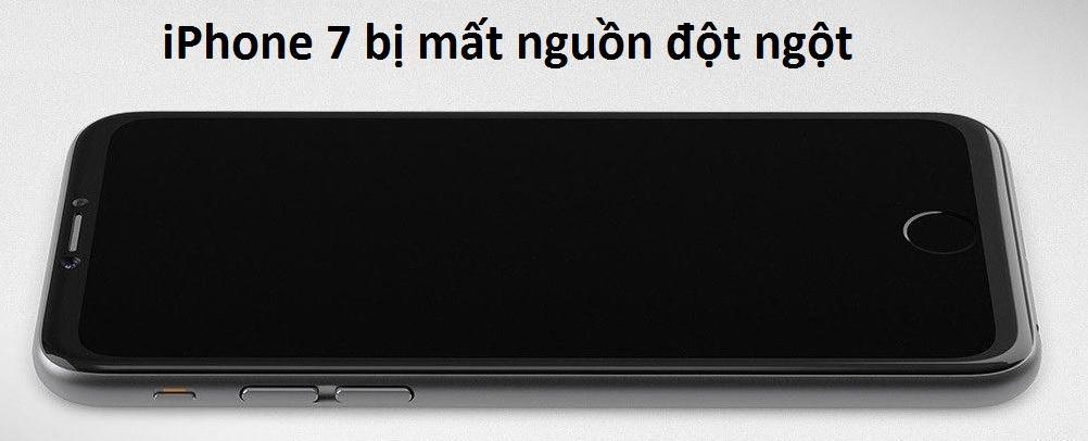 sua iPhone 7 không len nguon