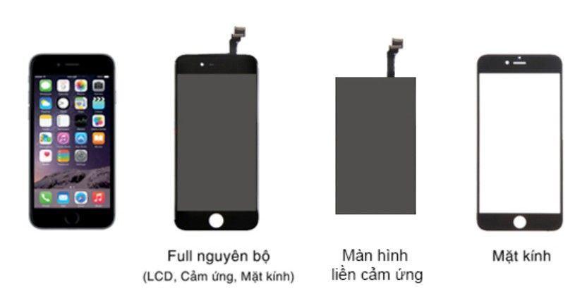 cấu tạo màn hình iphone 7 plus