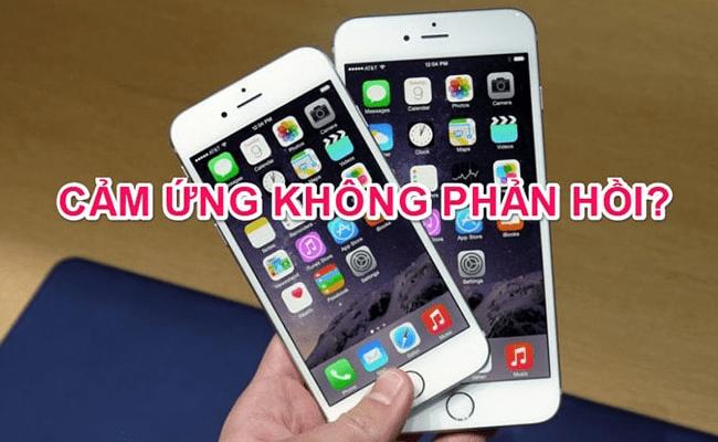 Cảm ứng iPhone XS bị hư hỏng