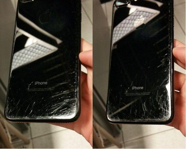 Vỏ iPhone 7 Plus bị trầy xước