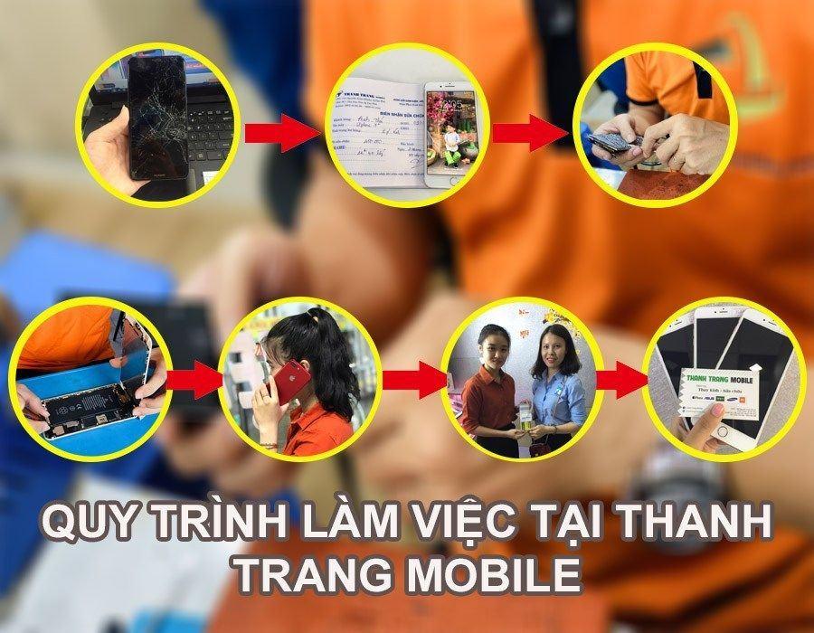 Quy trình làm việc tại Thanh Trang Mobile