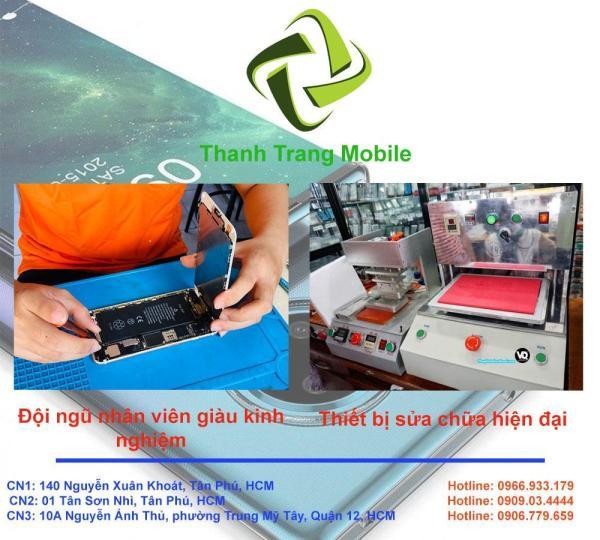 Ép Kính iPhone 12 Mini tại Thanh Trang Mobile