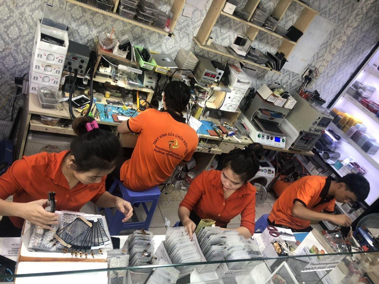 Thay Man Hinh Samsung A01