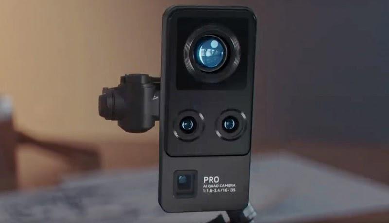 Cụm 4 camera sau cực xịn sò