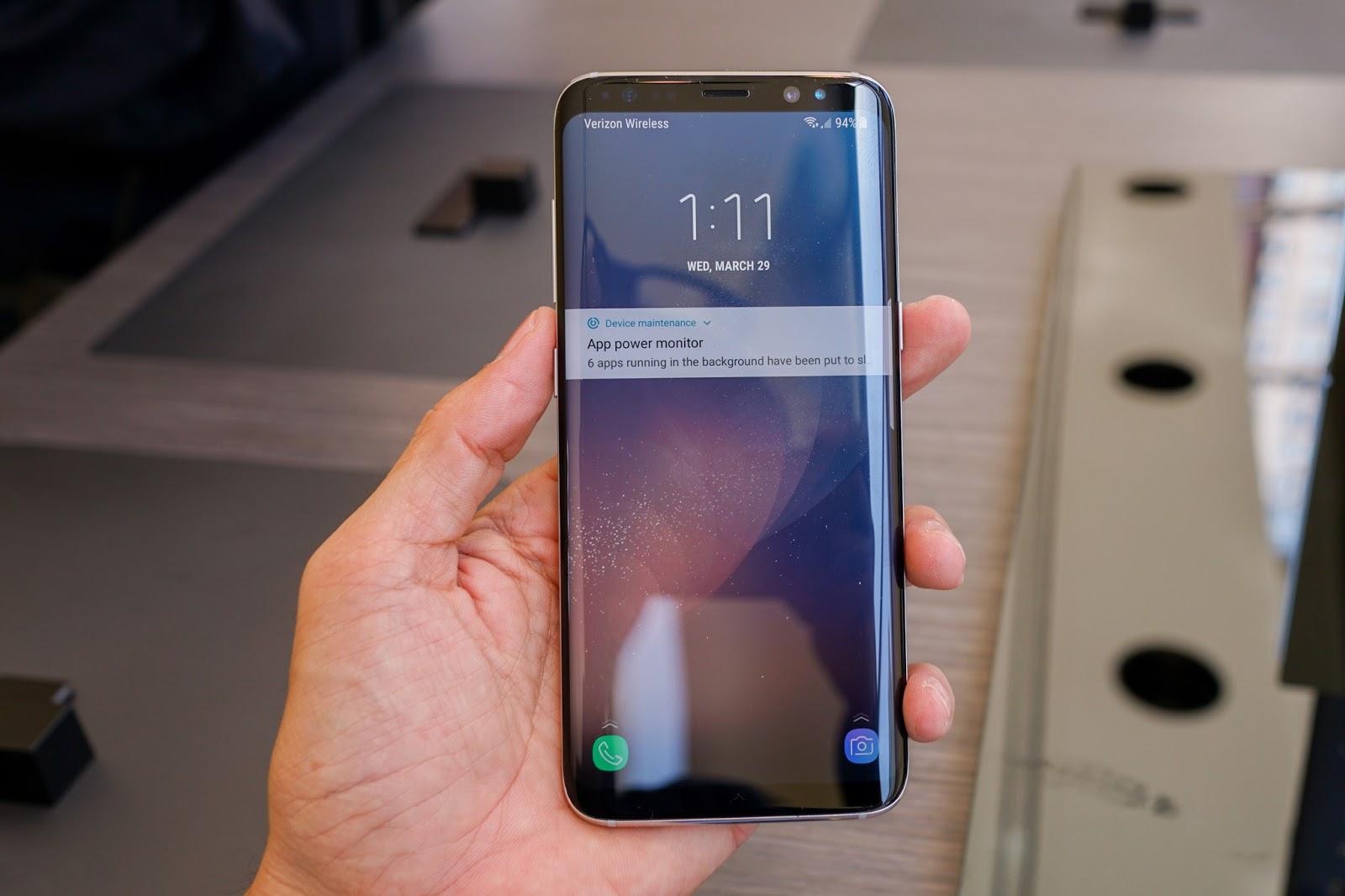 Samsung Galaxy S8 sở hữu màn hình Infinity Display