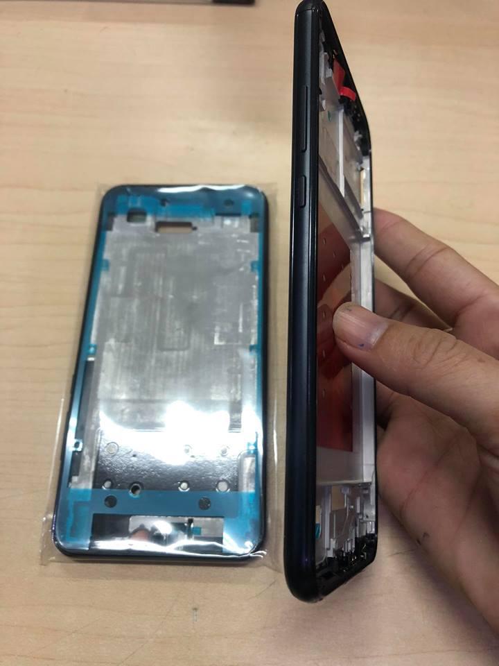 Thay vỏ Huawei