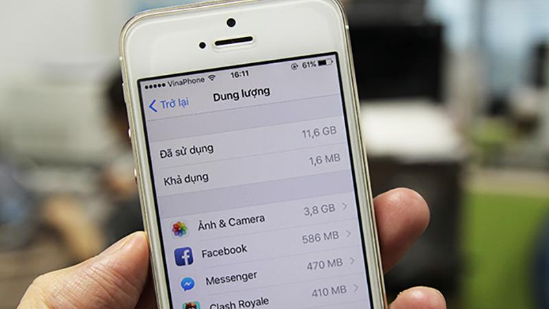 Nâng cấp dung lượng iPhone