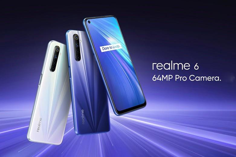 Realme 6 có hiệu năng đỉnh cao với con chip MediaTek Helio G90T