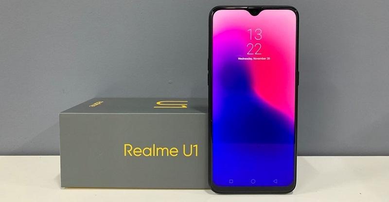Realme U1 mang thiết kế sang trọng, hiện đại