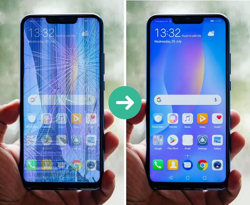 thay màn hình Huawei P40