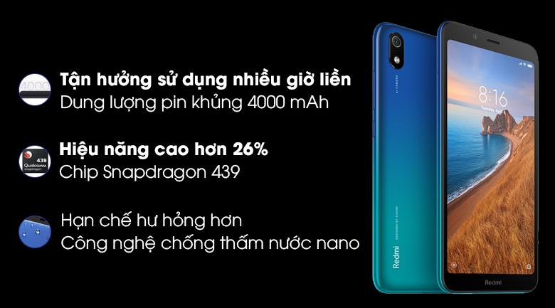 Thời lượng pin Xiaomi Redmi 7A
