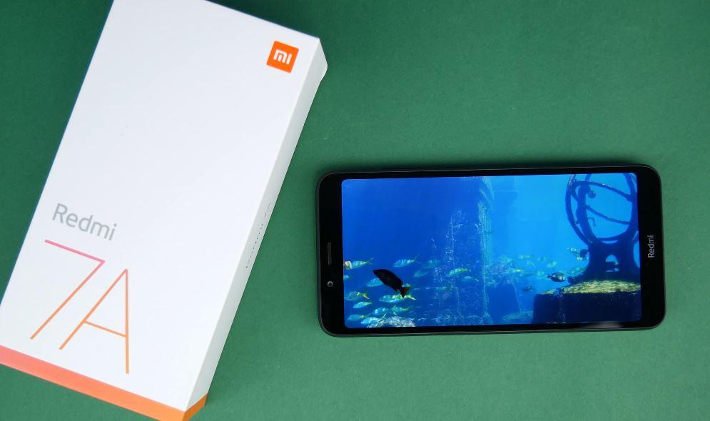 Thiết kế Xiaomi Redmi 7A